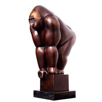 Gorilla IV | 38 cm hoog | oplage 8 + 4EA | gallery 713