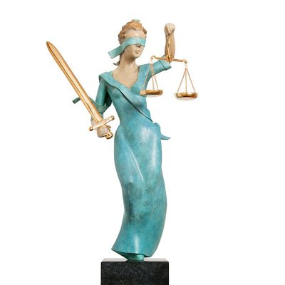 Vrouwe Justitia |43 cm hoog | oplage 8 + 4EA