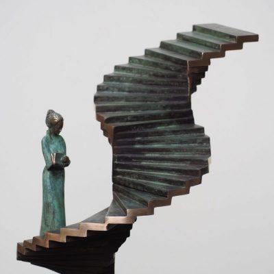 Progress II   brons   sold